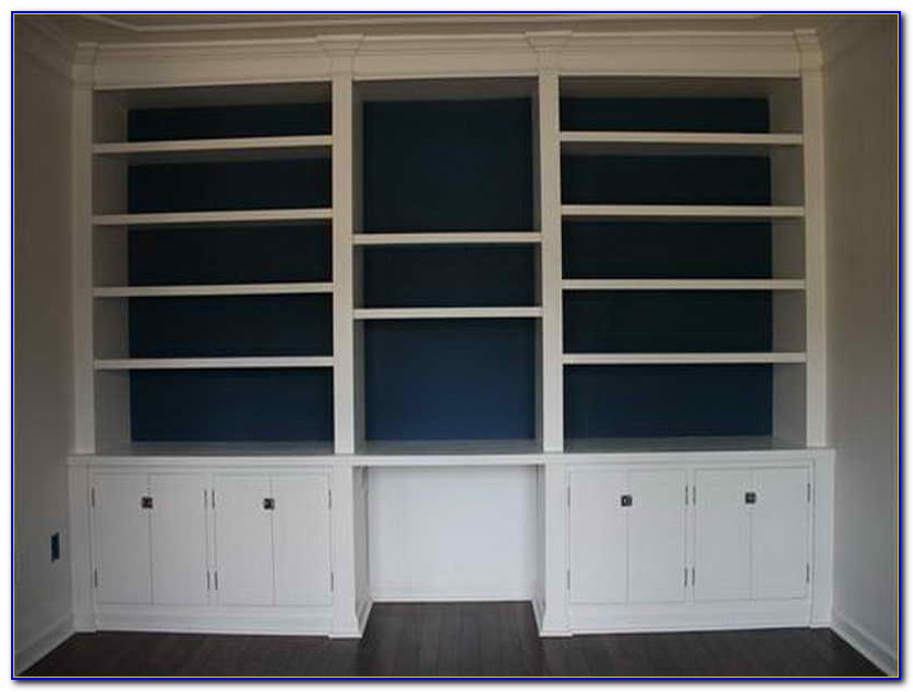 How To Build Built In Bookcases
