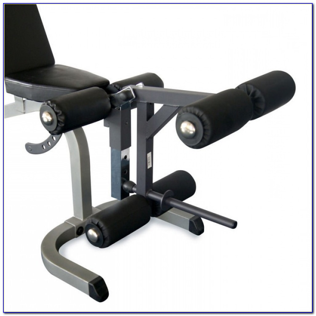 How To Use Weight Bench Leg Attachment