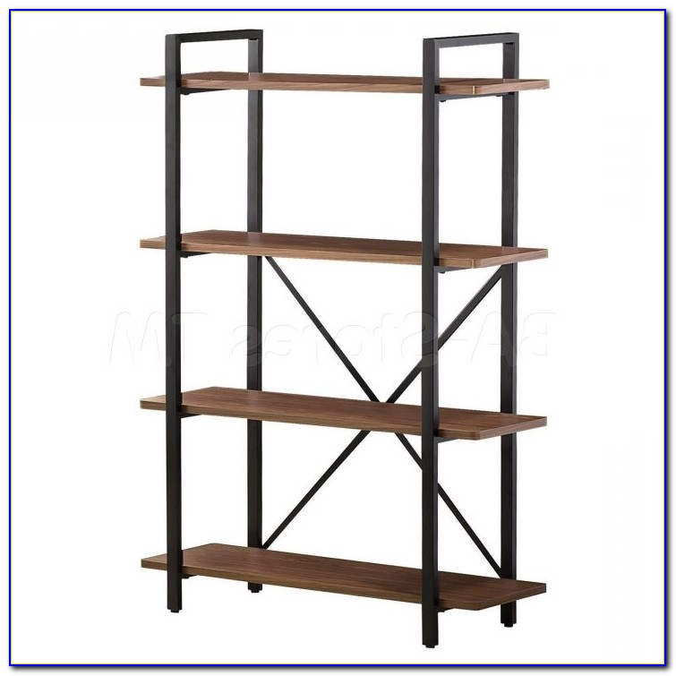 Ikea Black Metal Bookcase