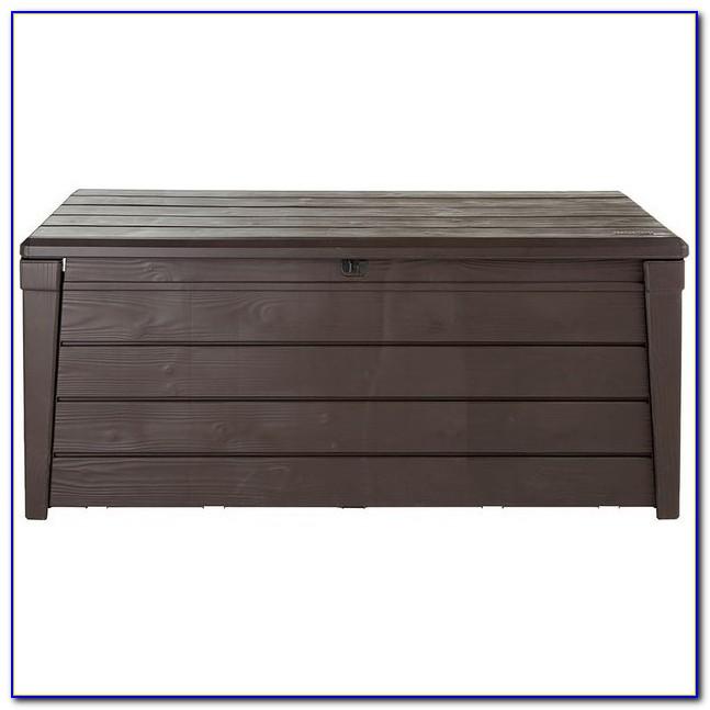 Keter Iceni Garden Storage Bench Box