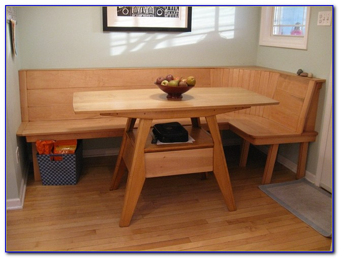 Kitchen Set With Bench Seating