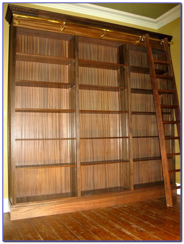 Library Bookcase With Ladder Brisbane
