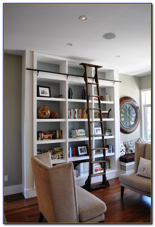 Living Room Bookcase Decorating