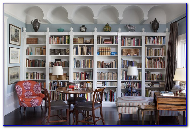 Living Room Bookcase Designs