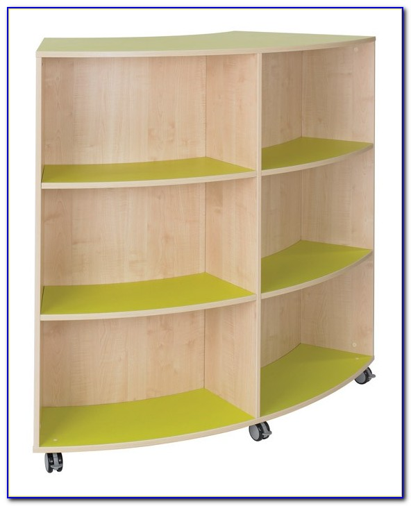 Mahar Double Sided Bookcase