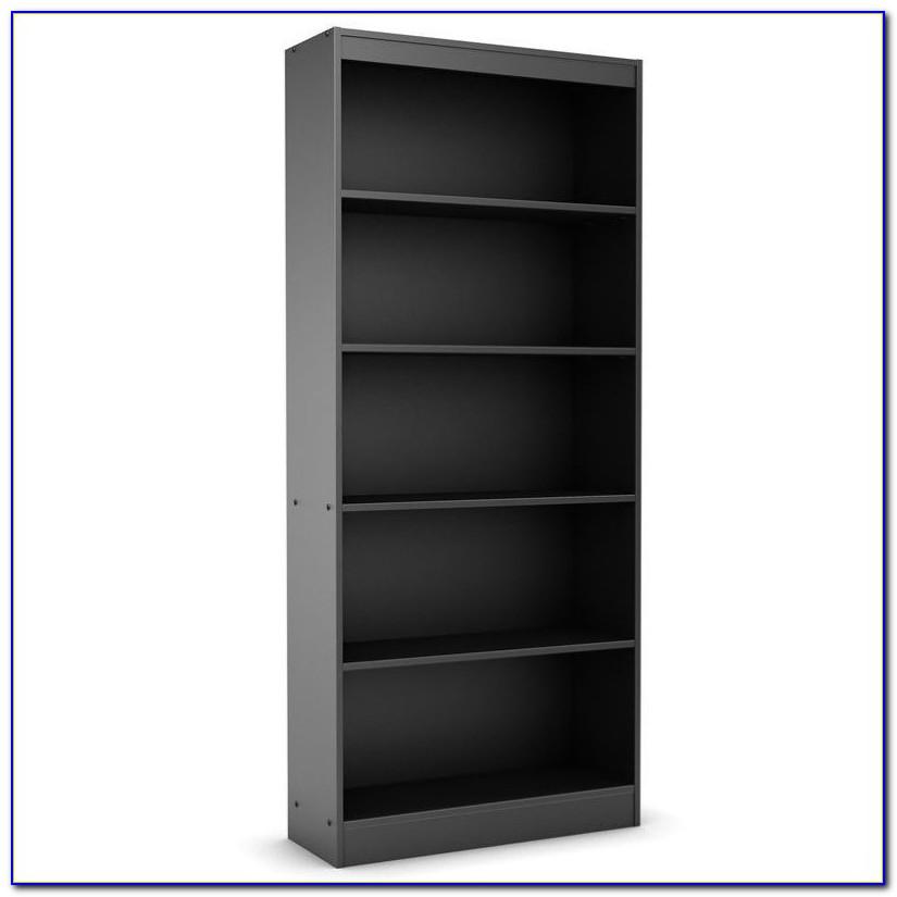Mainstays 5 Shelf Bookcase Black Instructions