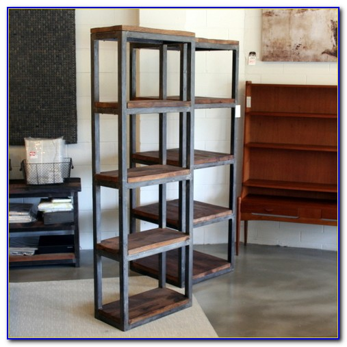 Metal Wood Bookcases
