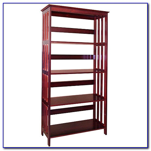 Mission Style Bookcase Cherry