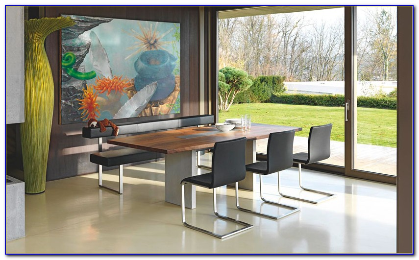 Modern Dining Table Bench