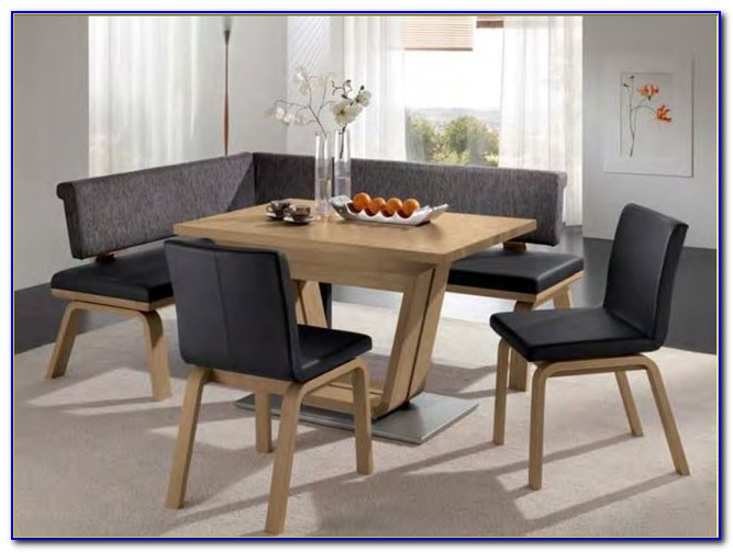 Modern Dining Table Set With Bench