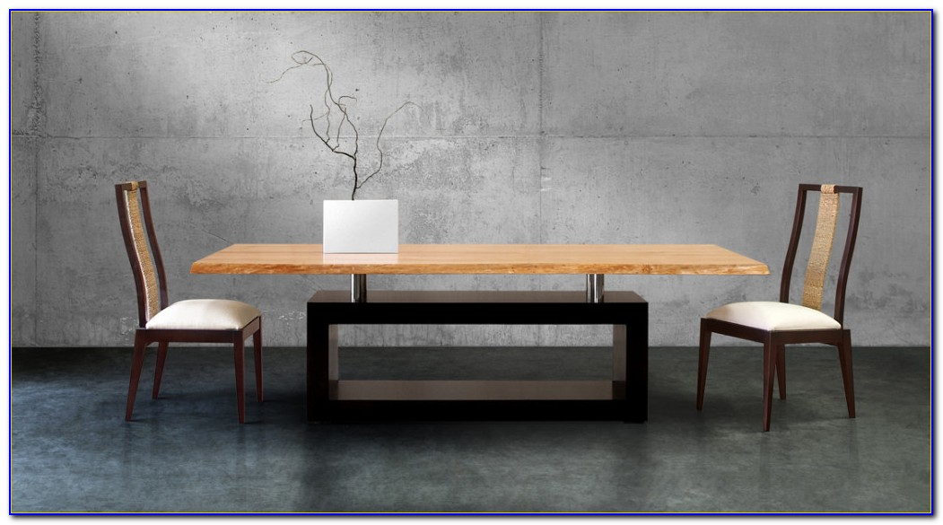 Modern Dining Table With Bench