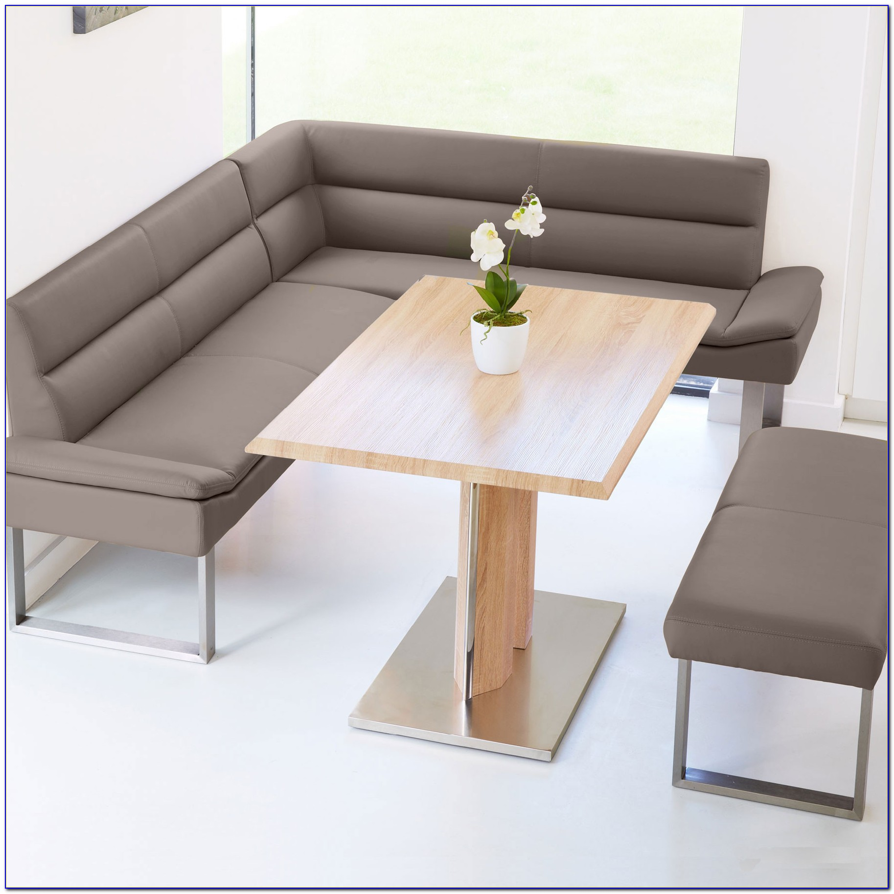 Nook Dining Table And Bench Set