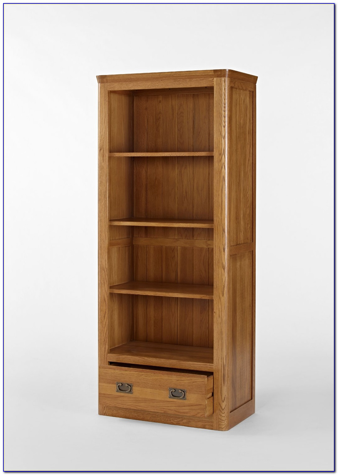Oak Bookcases With Drawers