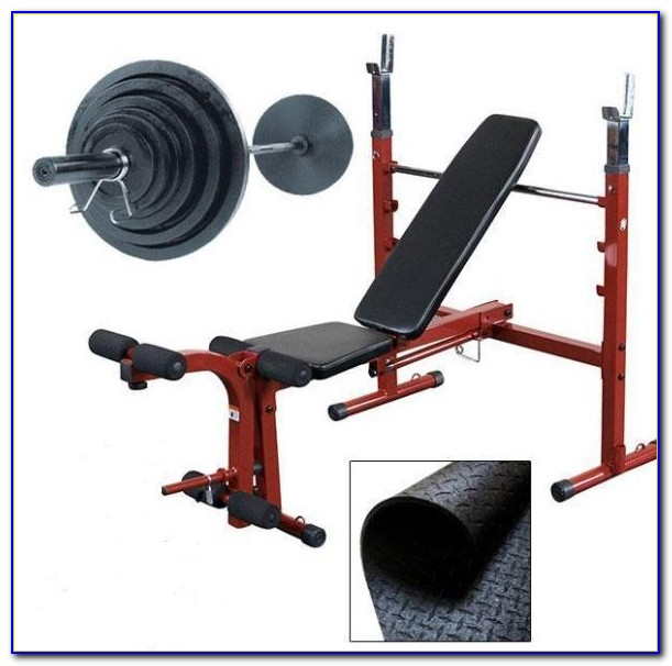 Olympic Bench Bar And Weights