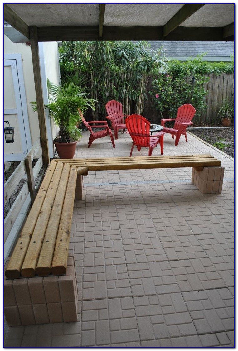 Outdoor Bench Seat Cushion Ideas