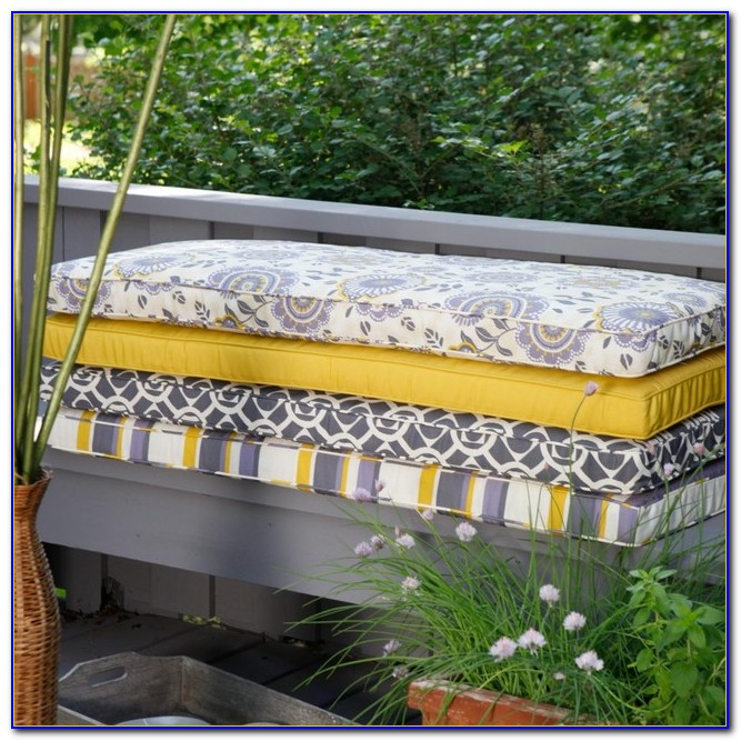 Outdoor Furniture Bench Seat Cushions