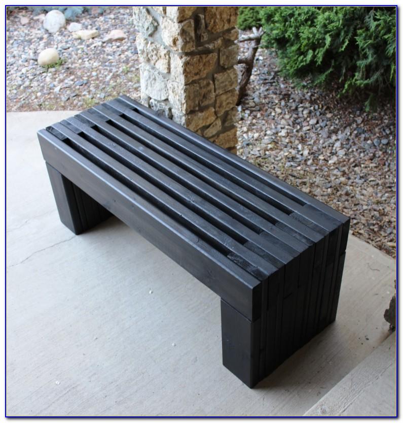 Outdoor Wooden Bench Seat Designs