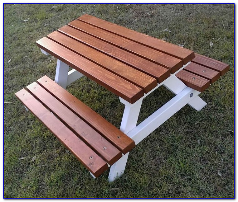 Outdoor Wooden Tables And Benches