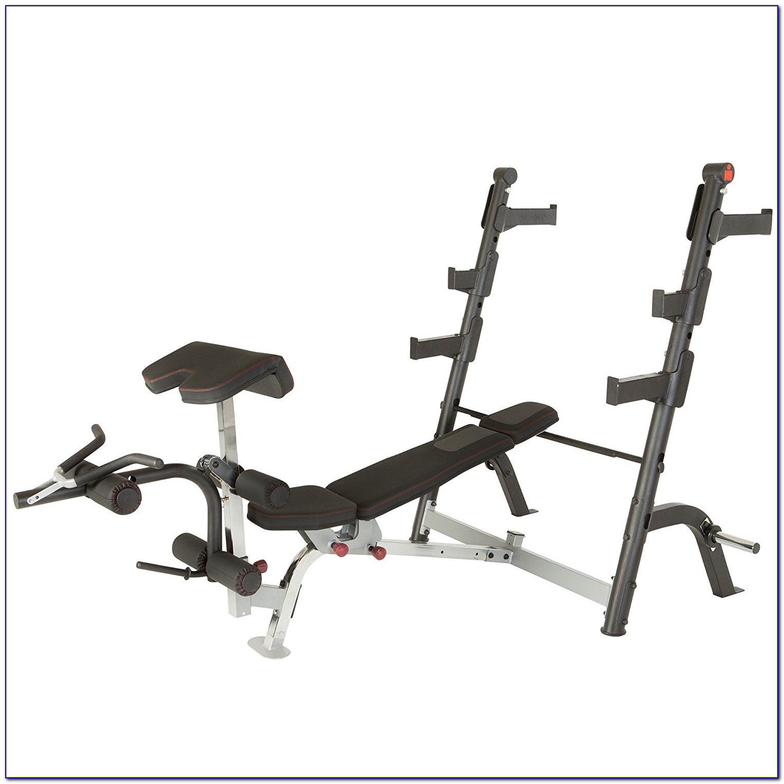 Parabody Weight Bench With Leg Attachment
