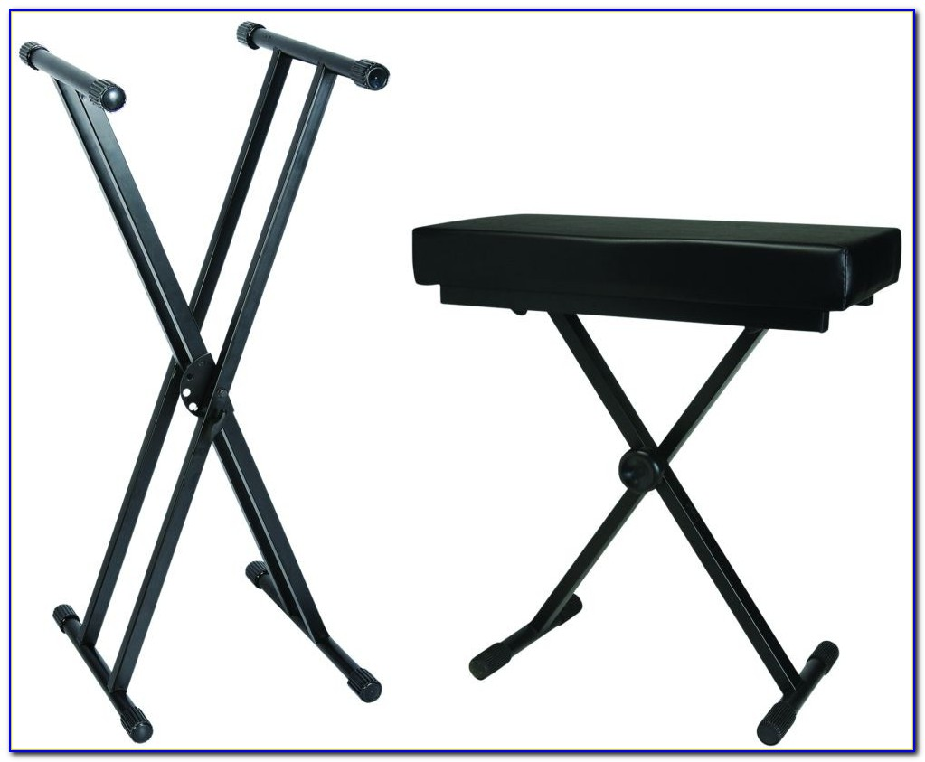 Piano Keyboard Stand And Bench