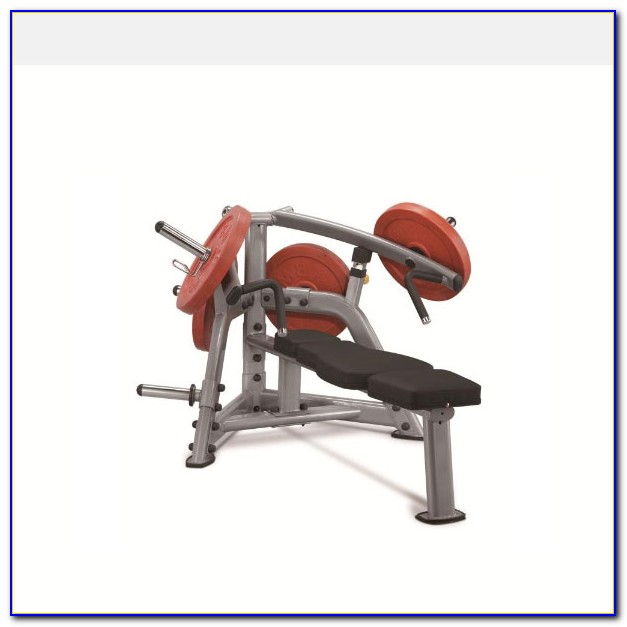 Plate Loaded Incline Bench Press