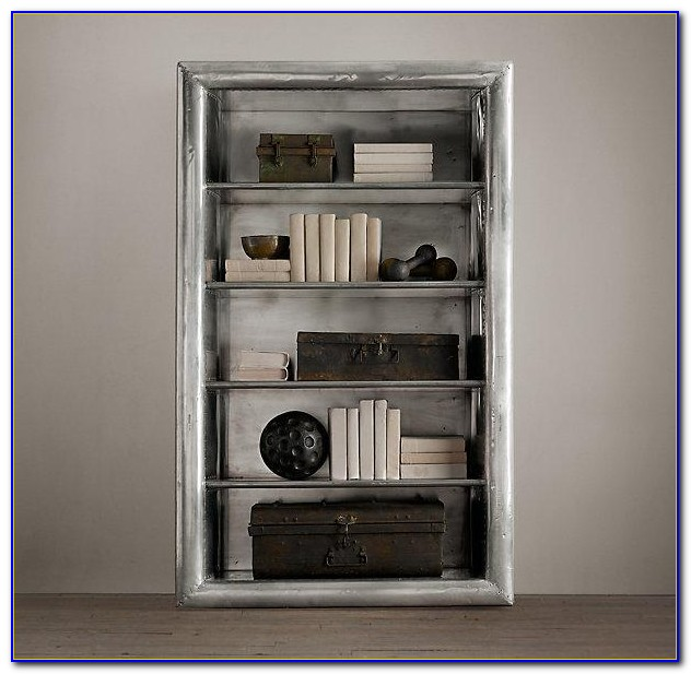 Restoration Hardware Bookshelf Hack