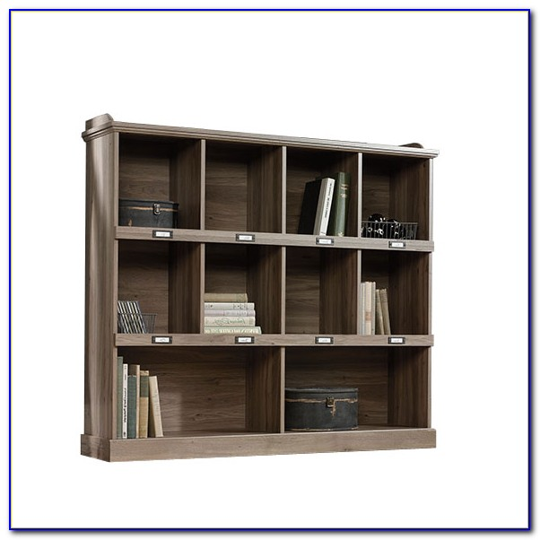 Sauder Barrister Bookcase 3 Glass Door
