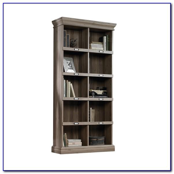 Sauder Barrister Bookcase 4 Glass Door
