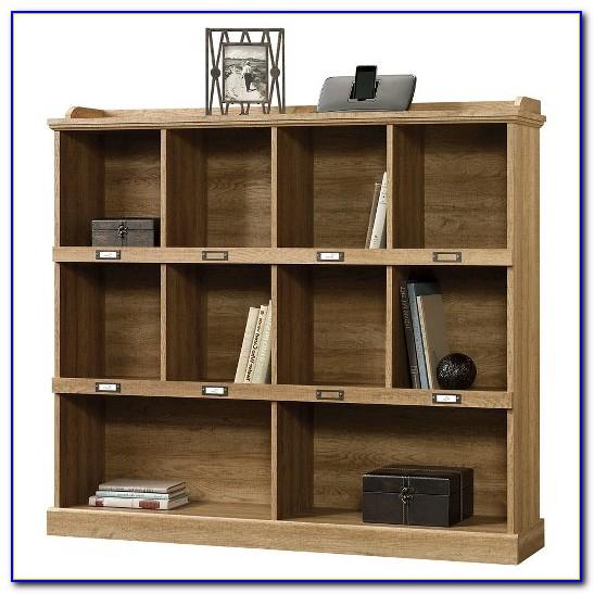 Sauder Barrister Bookcase Scribed Oak