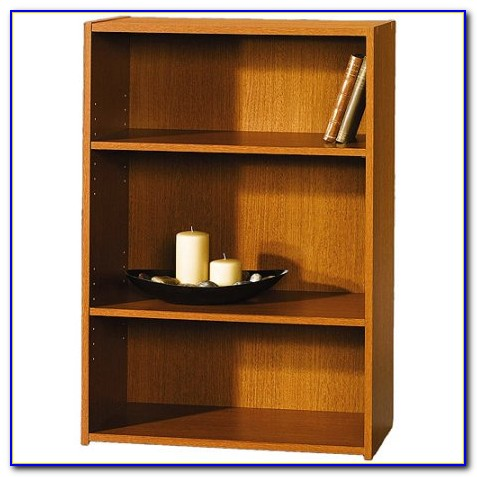 Sauder Beginnings 3 Shelf Wood Bookcase