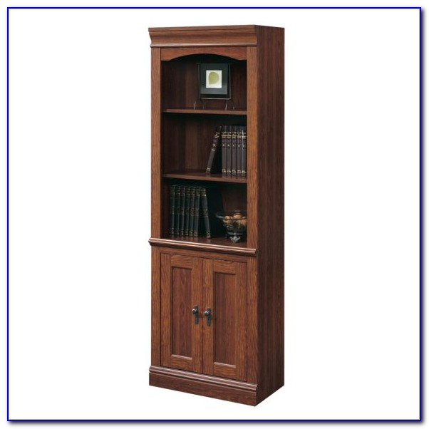 Sauder Bookcase With Doors