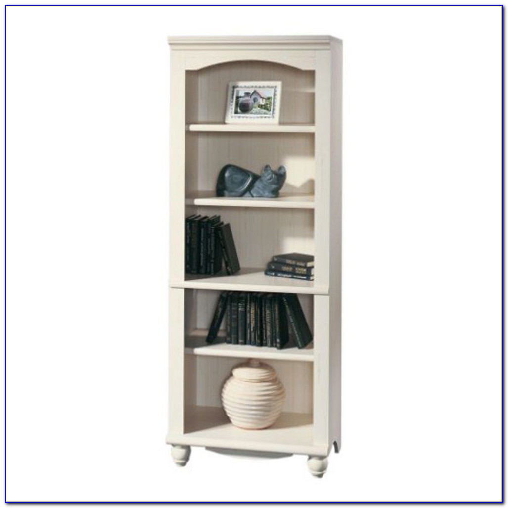 Sauder Harbor View Bookcase Antique White