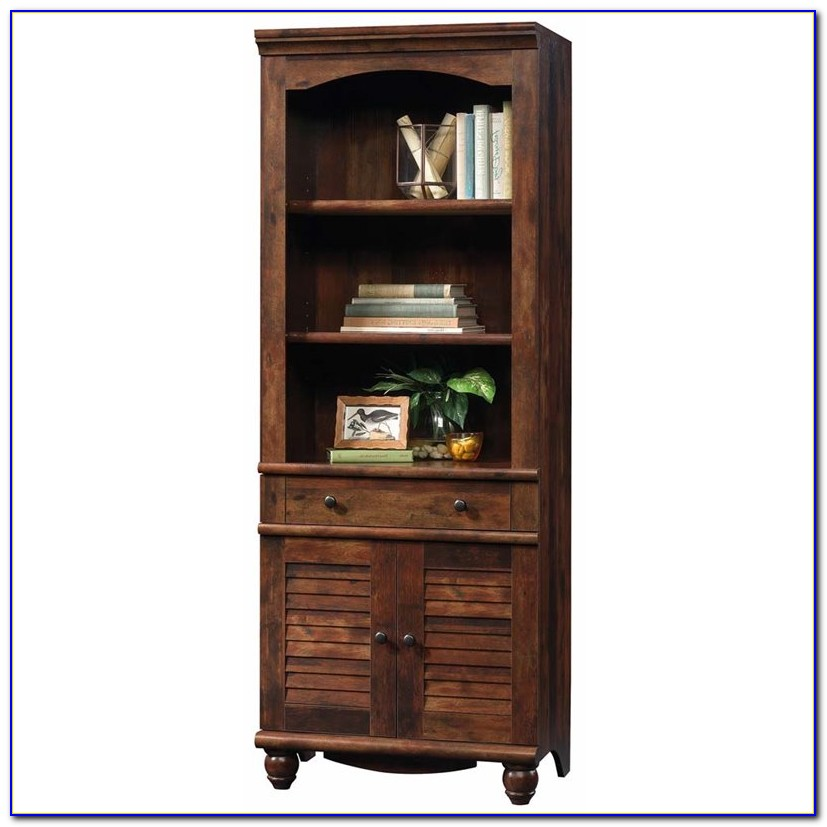 Sauder Harbor View Bookcase Wall