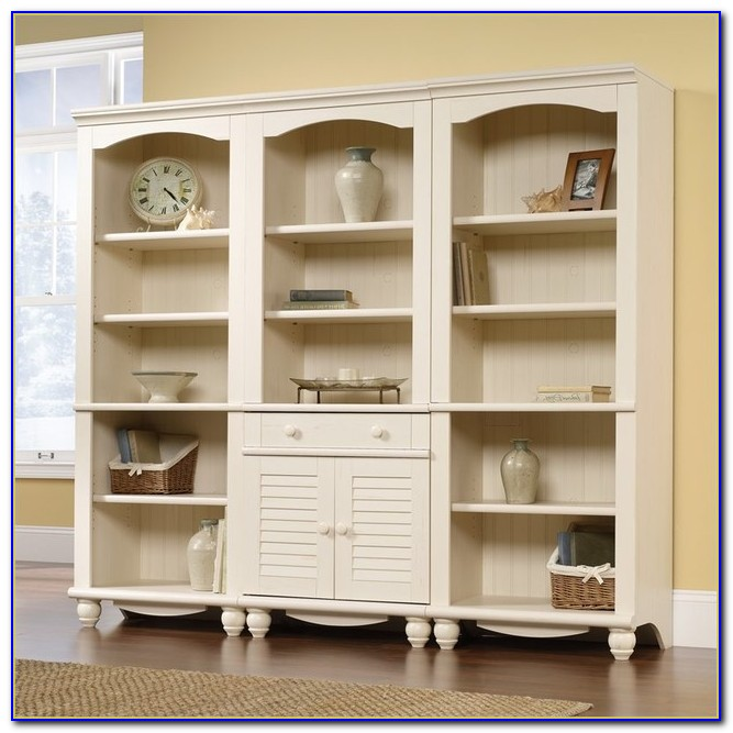 Sauder Harbor View Bookcase White