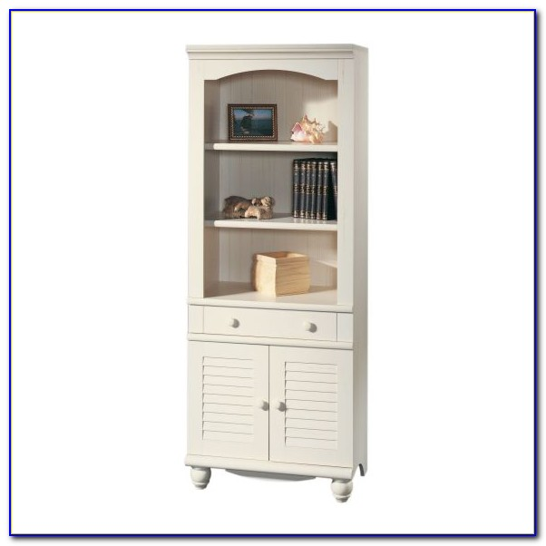 Sauder Harbor View Bookcase With Doors