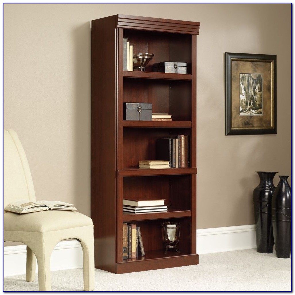 Sauder Heritage Hill Bookcase With Doors