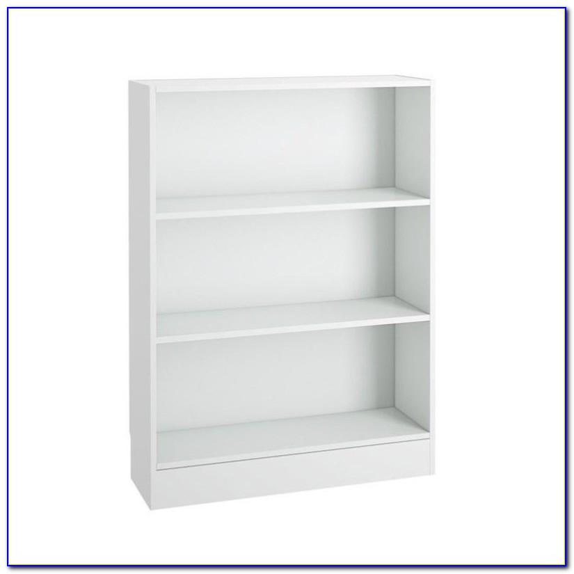 Short Wide Bookcase With Doors