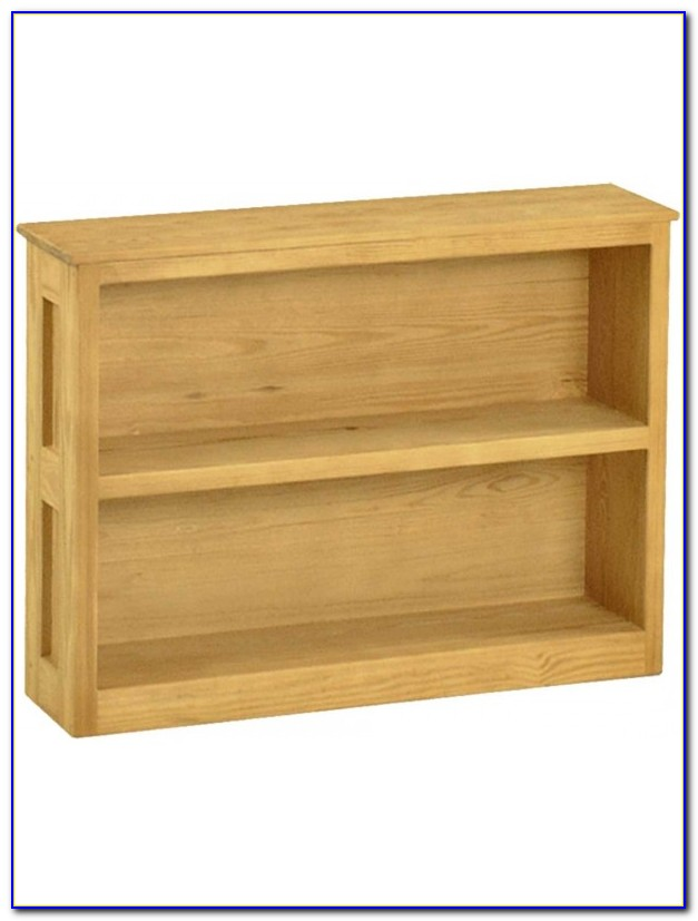 Short Wide Bookshelf