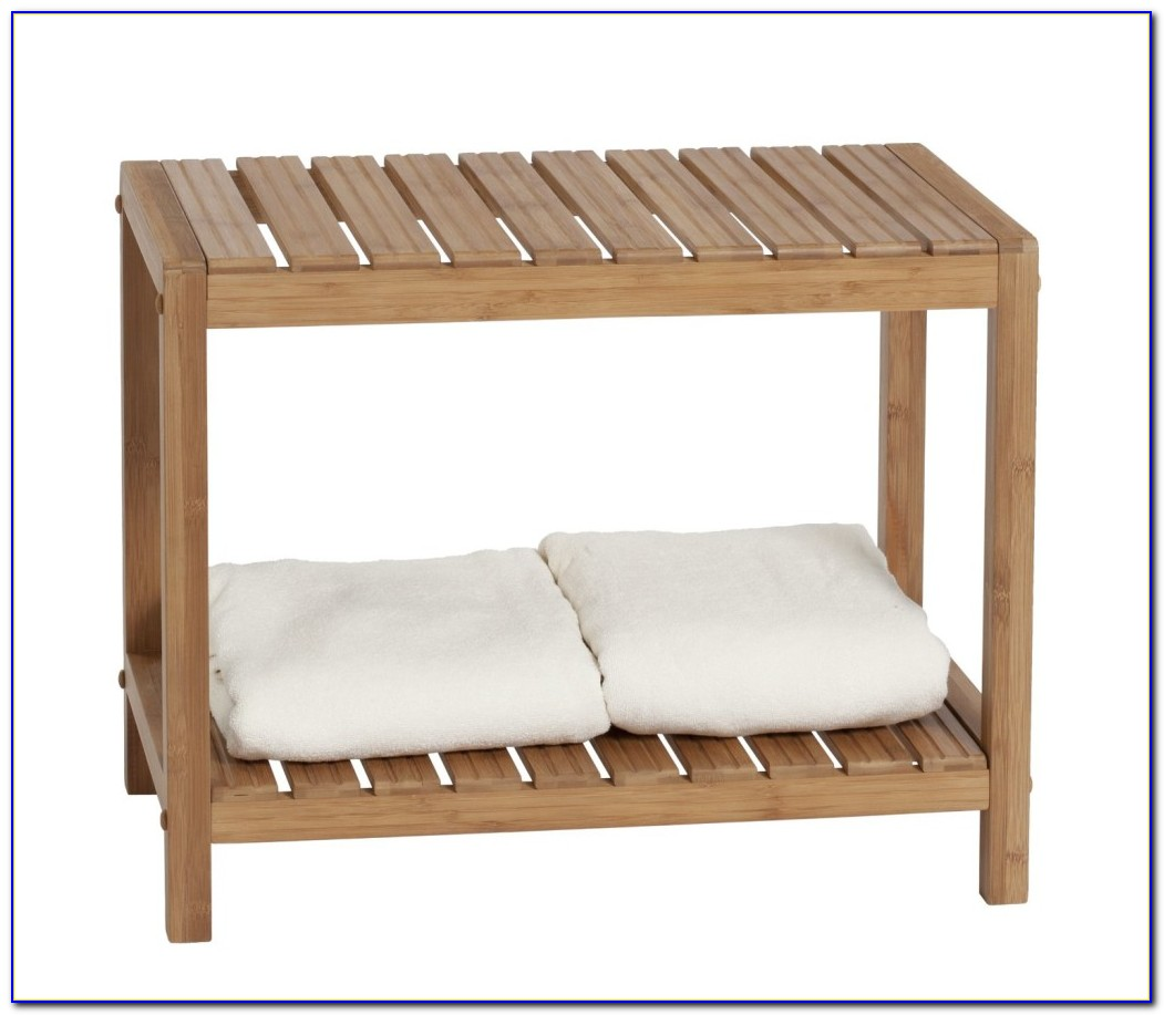 Small Wood Bench For Bathroom