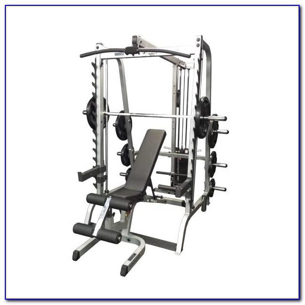 Smith Machine Vs Free Weight Bench Press