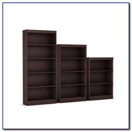 South Shore Axess Collection 5 Shelf Bookcase Chocolate