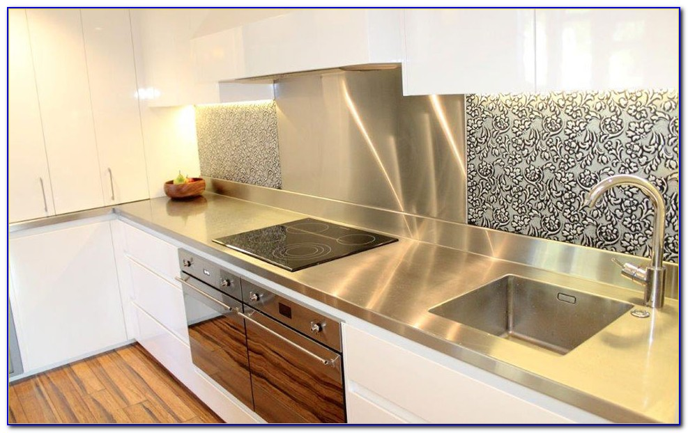 Stainless Steel Benchtop With Sink