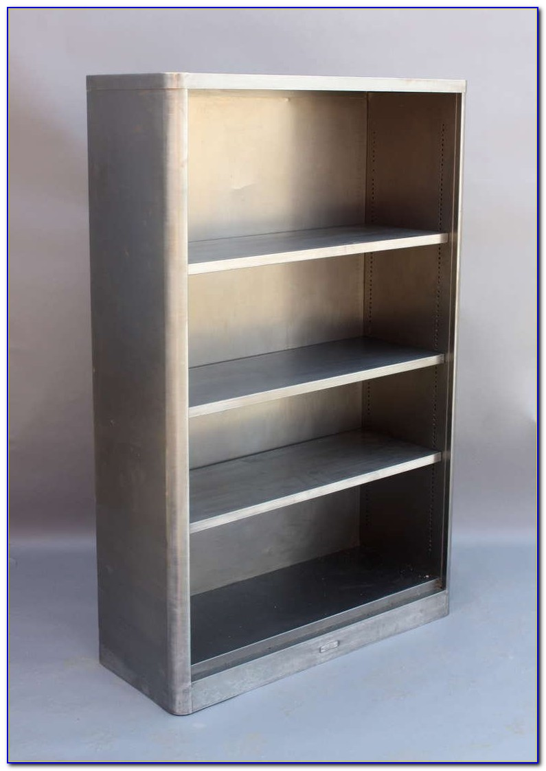 Stainless Steel Bookcase Strip