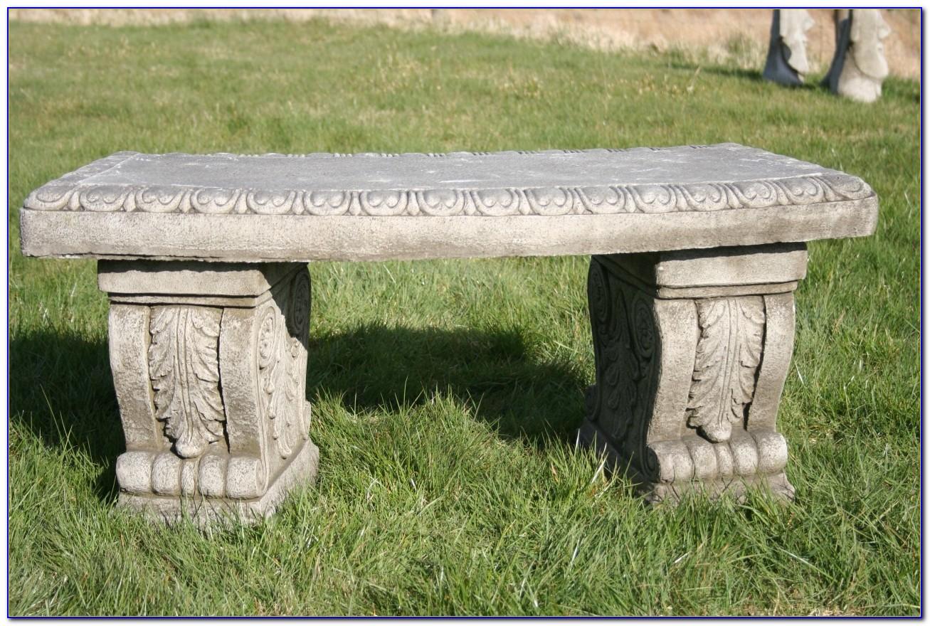 Stone Benches For The Garden Calgary