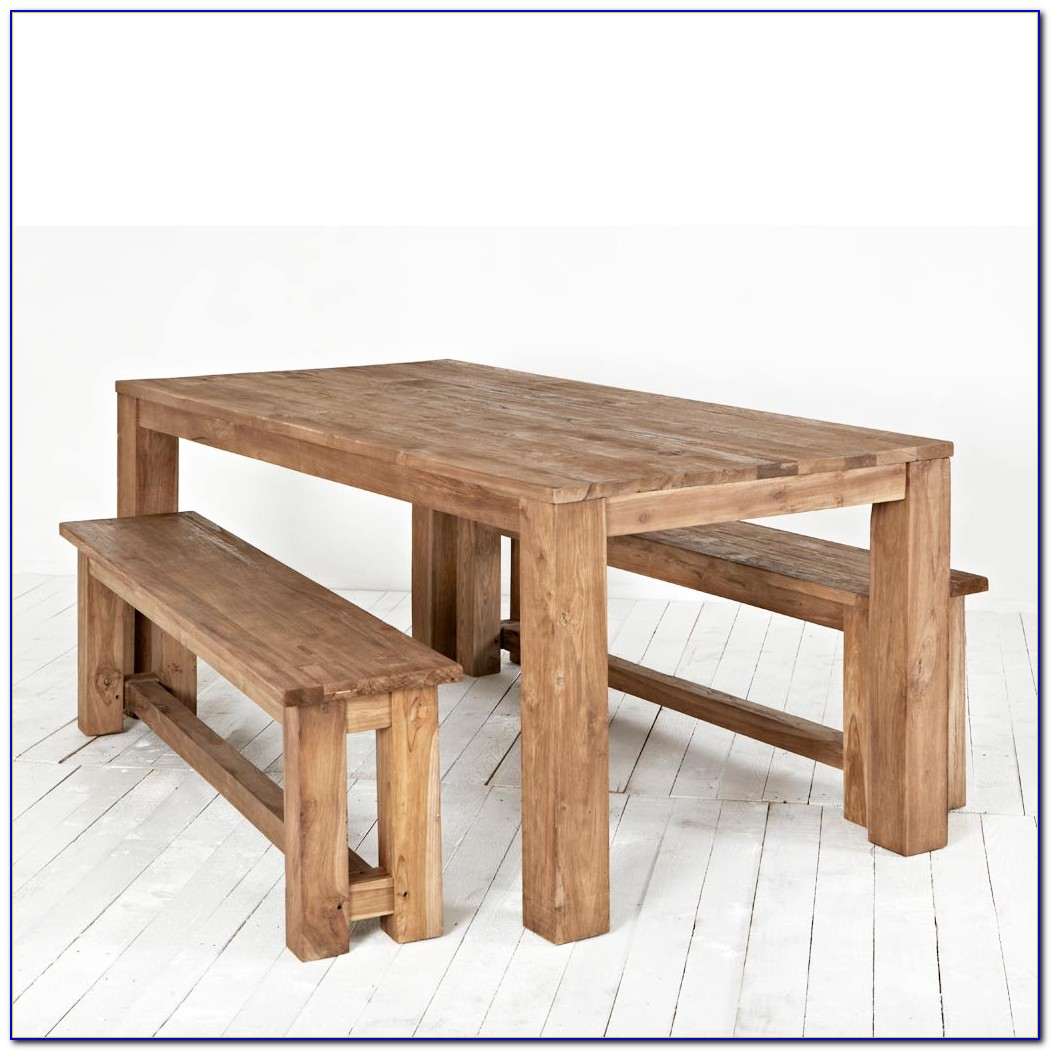 Table And Bench Seats Dining