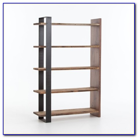 Tall Bookcase With Baskets