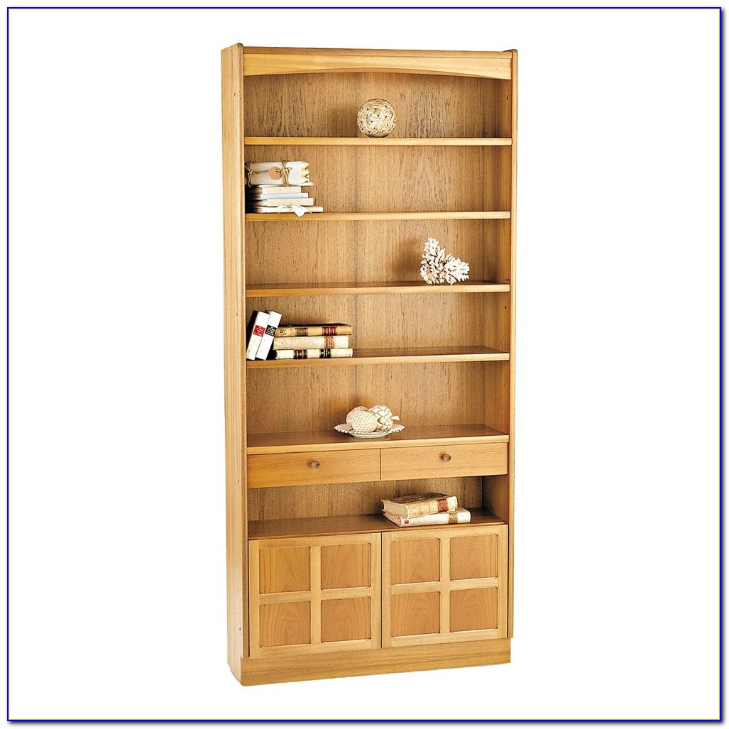Tall Bookcase With Doors Uk