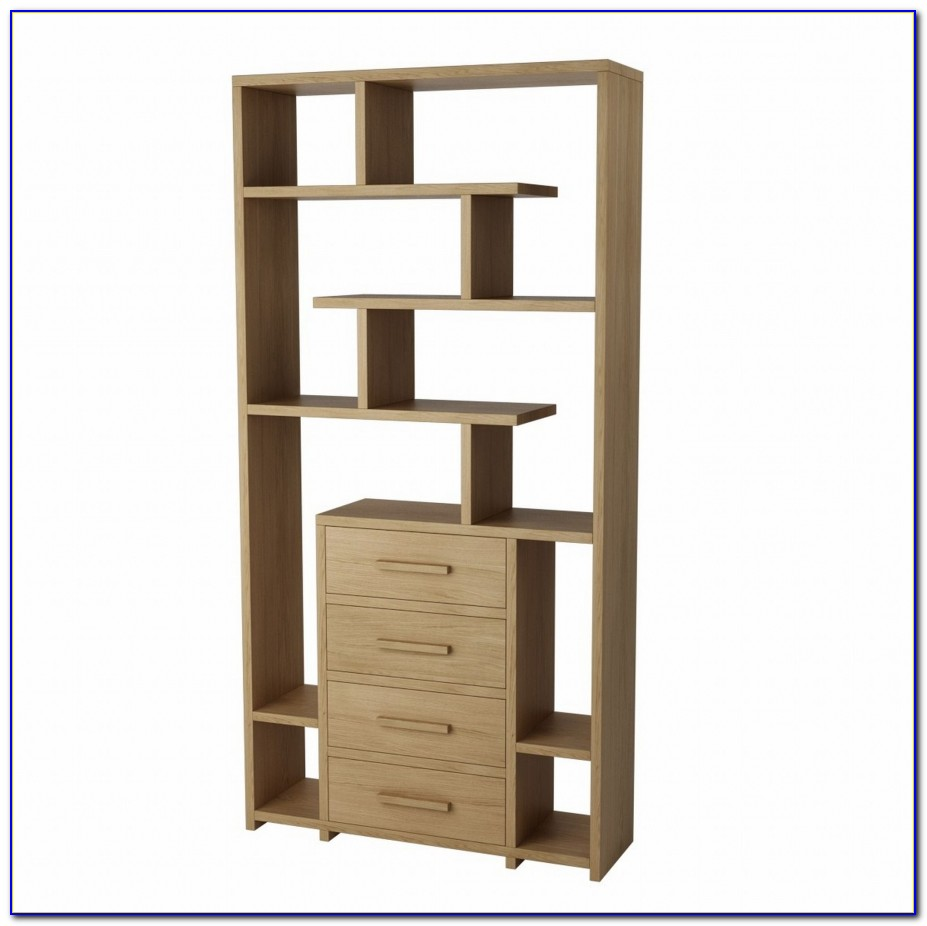 Tall Bookcases With Drawers