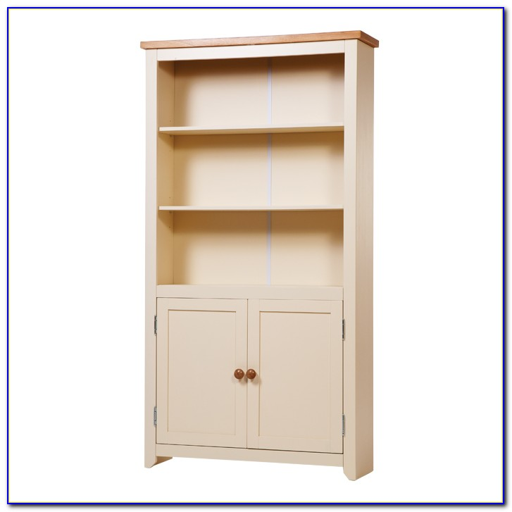 Tall Bookshelf With Doors