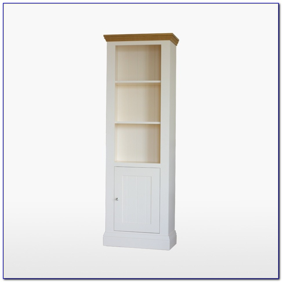 Tall Thin Bookcase With Doors